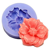 Khuôn silicon hoa râm bụt