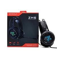Tai nghe Zidli ZH6 Gaming (3.5mm , USB, LED -Pro/A , Full Box )  _ Hàng chính hãng