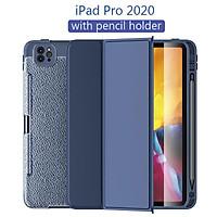 Ốp da bảo vệ kèm chỗ đựng bút Dành cho  iPad 10.2 7th 8th 2020 Pro 11 10.5 Air 3 Smart