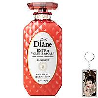 Dầu Xả Moist Diane Extra Volume & Scalp Treatment Hàn Quốc 450ml tặng móc khoá