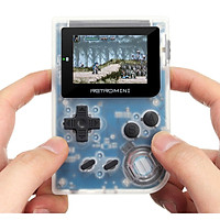 Tay cầm chơi game Retro Mini 169 game - chạy được GBA GBC GB có thể chép thêm game qua khe thẻ (đen) hàng nhập khẩu
