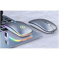 Chuột không đây phát sáng kết nối USB có pin tích điện có thể sạc