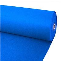 Thảm nỉ trải sàn màu xanh dương (nhạt) khổ 2m thảm lót sàn văn phòng showroom sự kiện