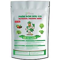 Túi ziplock 5kg Phân gà xử lý Gà Cồ Xanh 100% nguyên liệu hữu cơ, bón cho rau củ quả