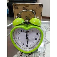 Đồng hồ báo thức để bàn loại nhỏ - Hình trái tim