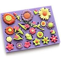 Khuôn rau câu silicon các loại hoa