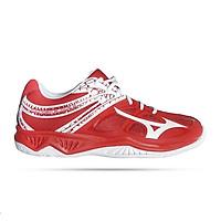 Giày cầu lông , bóng chuyền Mizuno Thunder Blade 2 Red mẫu mới, cổ thấp, đế kếp chơi được mọi mặt sân, dành cho nam, màu đỏ, đủ size