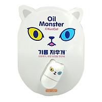 Đá Lăn Mặt Mát Xa Oil Monster - Màu Trắng