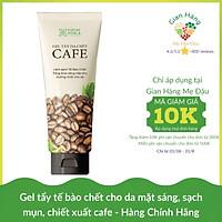 Gel tẩy da chết dành cho mặt sáng da sạch mụn chiết xuất cà phê Cocayhoala 100g