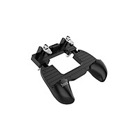 Bộ tay cầm kẹp điện thoại hỗ trợ chơi game PUBG Hoco GM2 + Tặng Thêm Gía Đỡ Điện Thoại Mini - Chính Hãng