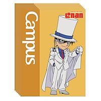 Lốc 5 Cuốn Vở A5 4 Ô Ly (2 x 2 mm) Campus Conan Cute NB-ACNC96 - ĐL 120 (96 Trang) - Mẫu Ngẫu Nhiên