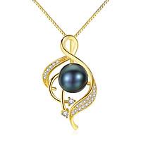 Dây Chuyền Ngọc Trai Cao Cấp DB2337 Cỡ Hạt 7x7 Bảo Ngọc Jewelry