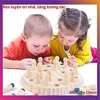 Bàn cờ vua ghi nhớ rèn luyện trí nhớ hiệu quả cho bé yêu ngay từ nhỏ - Chất liệu gỗ#lego#popit