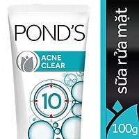 Sữa Rửa Mặt Ngừa Mụn Pond's Acne Clear (100g)