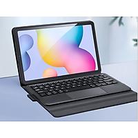 Bao da Samsung Galaxy Tab S6 Lite P610/P615 kèm bàn phím bluetooth có TouchPad hiệu Dux Ducis - Hàng chính hãng