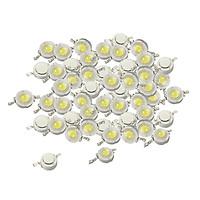 50 Cái 1W Cao Cấp SMD LED Chip COB Đèn Hạt Đèn LED Trắng Diode