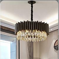 Đèn chùm pha lê cao cấp thiết kế sang trọng trang trí phòng khách, bàn ăn, nhà hàng, quán cafe TPL.6613T6