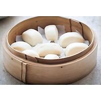Bánh bao chay trắng loại 12 cái/ gói