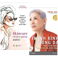 Combo 2 Cuốn Sách Chăm Sóc Da: Skincare Chuyên Nghiệp + Thánh Kinh Dưỡng Da (Tặng Kèm Bookmark Happy Life)