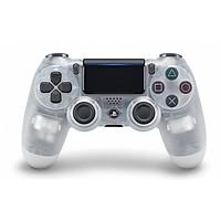 Tay cầm playstation 4 crytal màu trắng - hàng nhập khẩu