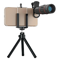 18x Telescope Zoom Mobile Phone Lens Telephoto Macro Camera Lenses Universal Selfie Tripod With Clip