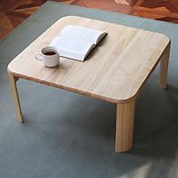 Bàn Trà Sofa C Table Nội Thất Kiểu Hàn - Gỗ Tự Nhiên (Size S)
