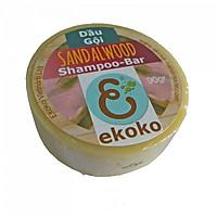 Bánh dầu gội tự nhiên Gỗ đàn hương - shampoo bar Serene Sandalwood 90g
