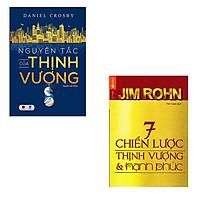 Bộ 2 cuốn sách giúp bạn đem lại thịnh vượng và hạnh phúc: Nguyên Tắc Của Thịnh Vượng - 7 Chiến Lược Để Thịnh Vượng Và Hạnh Phúc