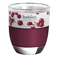 Ly nến thơm Bolsius Wild Cranberry BOL7846 295g (Hương việt quất hoang dã)