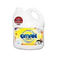 Nước rửa chén QMAX 3.5 lít hương chanh Thái Lan cao cấp