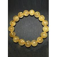 Vòng Nam Đá Thạch Anh Tóc Vàng Tự Nhiên 11mm