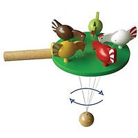 Gà Mổ Thóc  Mk - Đồ chơi gỗ