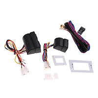High Quality 3Pcs Car Electric Window Master Control Switch Wiring Harness