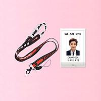 Set dây đeo thẻ EXO và card đeo thẻ Chanyeol EXO