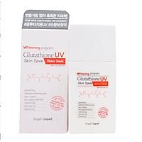 Kem Chống Nắng Angel's Liquid Whitening Program Glutathione UV Skin Save 50ml - WATER BASIC cho da khô
