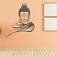 Decal dán tường Đức Phật Thích Ca Mâu Ni