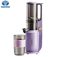 DAEWOO Juicer Compact Power Slow Masticating Extractor with 95% Juice Yield/3'' Wide Mouth Easy Clean & BPA-Free Juicing