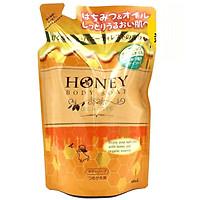 Sữa Tắm Sạch Da Dưỡng Ẩm Không Nhờn Dính Nhật Bản HONEY BODY SOAP OIL IN TYPE DẠNG TÚI 400ML