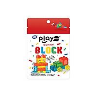 Kẹo dẻo xếp hình và sữa chua PlayMore 64g, nhập khẩu chính hãng Thái Lan