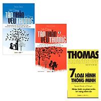 Combo Sách Tư Duy - Kỹ Năng Sống :  Vô Cùng Tàn Nhẫn Vô Cùng Yêu Thương ( Trọn Bộ Hai Tập ) + 7 Loại Hình Thông Minh