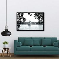 Tranh treo tường phong cảnh Hà Nội xưa - HNX016