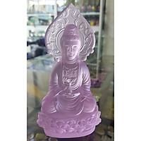 Tượng Phật Bà Quan Âm 12 Cm Đá Lưu Ly
