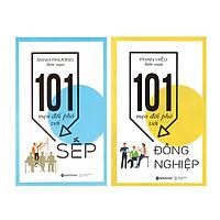 Combo Mẹo Hay Nơi Công Sở : 101 Mẹo Đối Phó Với Sếp + 101 Mẹo Đối Phó Với Đồng Nghiệp