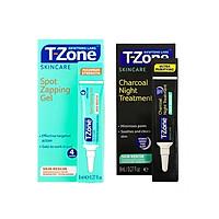 Combo gel ngăn ngừa mụn ngày và đêm T-Zone