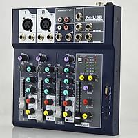 Mixer F4 USB Hát Karaoke Thu âm