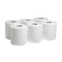 Lốc 05 cuộn Giấy vệ sinh công nghiệp 700 gam 2 lớp