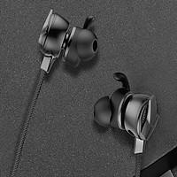 Tai nghe Gaming Baseus Gamo H15 AUX 3.5mm dành cho Game thủ có micro kép (Hàng Chính Hãng) - Tặng kèm dây quấn tai nghe