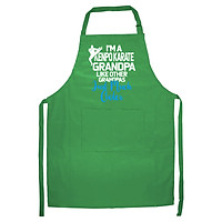 Tạp Dề Làm Bếp In họa tiết GRPANB491 -Tôi là một Karpo giống như những ông nội khác – Màu Xanh