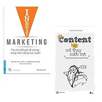 Combo Sách Kinh Tế Hay Chuyên Về Mảng Marketing:  Inbound Marketing - Thu Hút Thế Giới Về Bạn Trong Môi Trường Trực Tuyến +  Content Hay Nói Thay Nước Bọt ( Tặng Kèm Bookmark Happy Life)