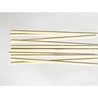 Combo 10 thanh gỗ tròn gỗ thông phi 0.6cm x 20-50-100cm dùng decor, treo mành, phụ kiện macrame